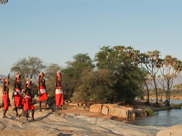 Explore Kenya Private 4x4 Journey - Samburu warriors