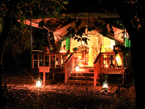 Gombe Forest Lodge - Spacious tented suites