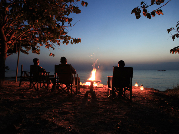 Gombe Forest Lodge - Excellent star-gazing