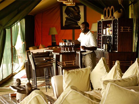 Lemala Ndutu - Cosy bar