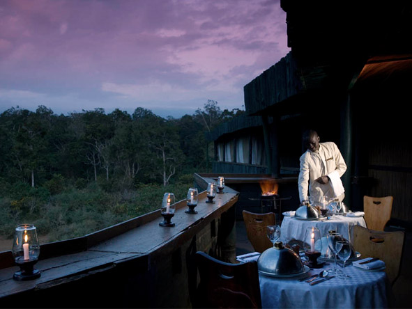 Serena Mountain Lodge - Romantic dinners