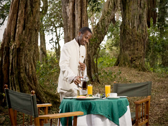 Serena Mountain Lodge - Alfresco dining