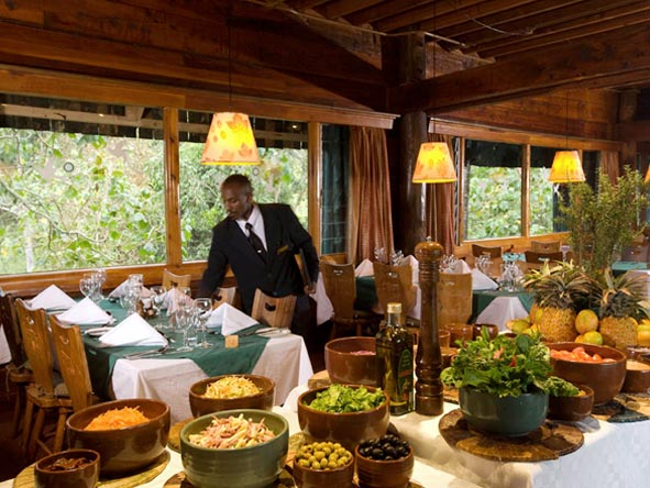 Serena Mountain Lodge - Local & international dishes