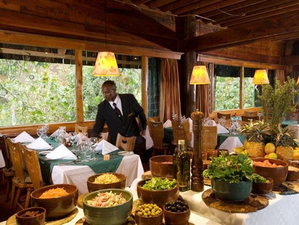 Serena Mountain Lodge - Local & international dishes