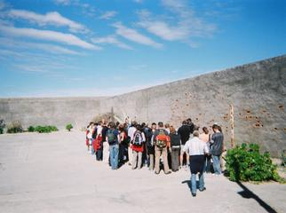 Mandela in Cape Town - Robben Island