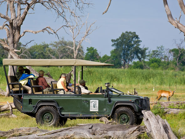 Xakanaxa Camp - Morning & afternoon game drives