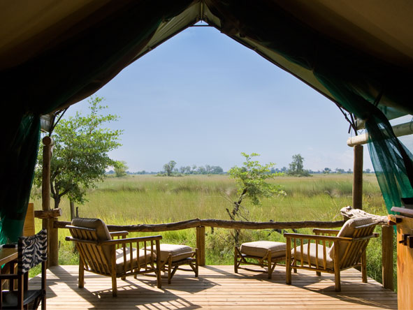 Xakanaxa Camp - Okavango Delta views