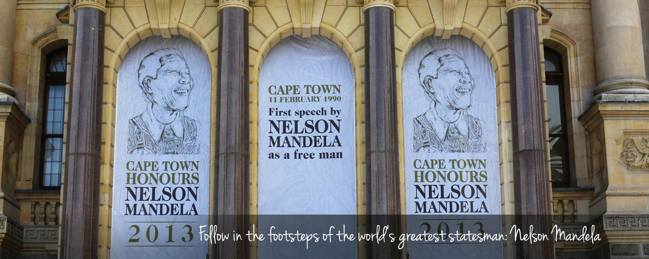 Inspired by Madiba: Finding Mandela in Cape Town