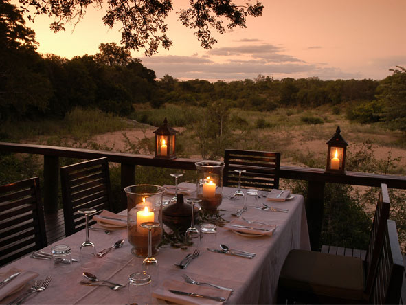 Fantastic Cape Town, Sun City & Kruger Holiday - Alfresco dinners