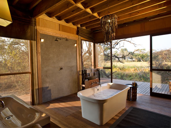 Xudum Delta Lodge - Okavango Delta views