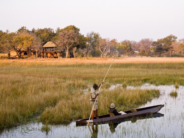 Xudum Delta Lodge - Mokoro rides