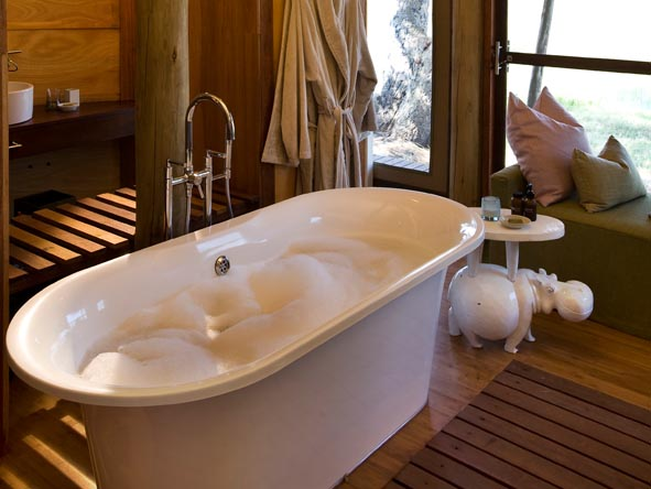 Xaranna Tented Camp - Foam baths