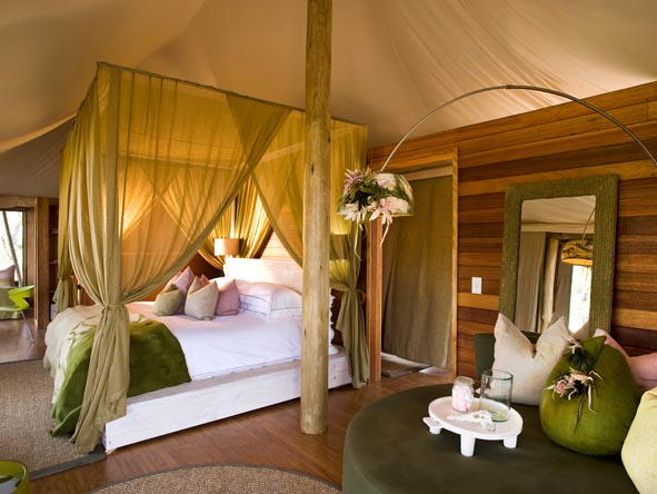 Xaranna Tented Camp - Spacious suites