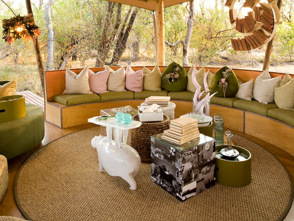 Xaranna Tented Camp - Library