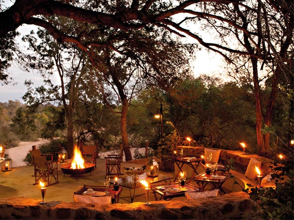 Cape Town, Sun City & Kruger Family Journey - Communal campfire