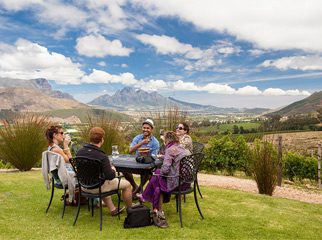 Where to go in Africa in January - Franschhoek