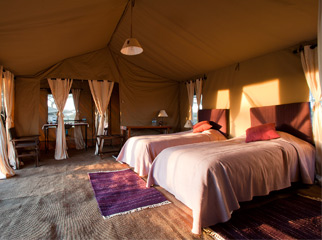 Where to go in Africa in January - Masek Under Canvas