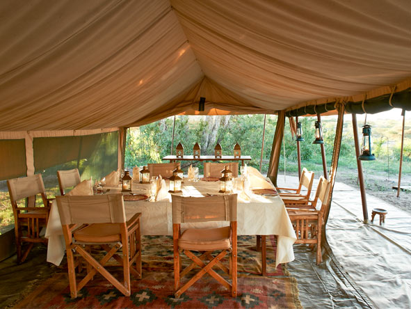 Ubuntu Camp - Stylish dining tent