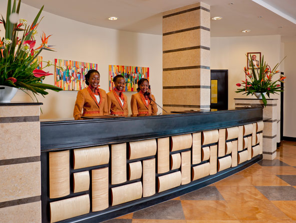 The Boma Hotel - Friendly staff