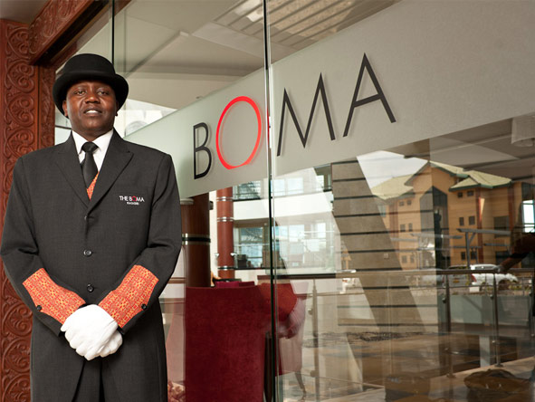 The Boma Hotel - Friendly service