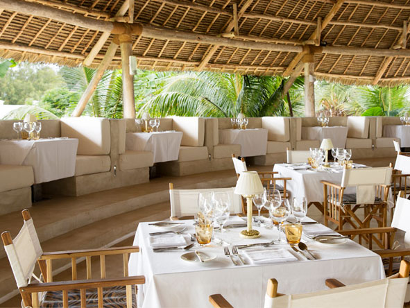 Gold Zanzibar Beach House and Spa - Delicious cuisine