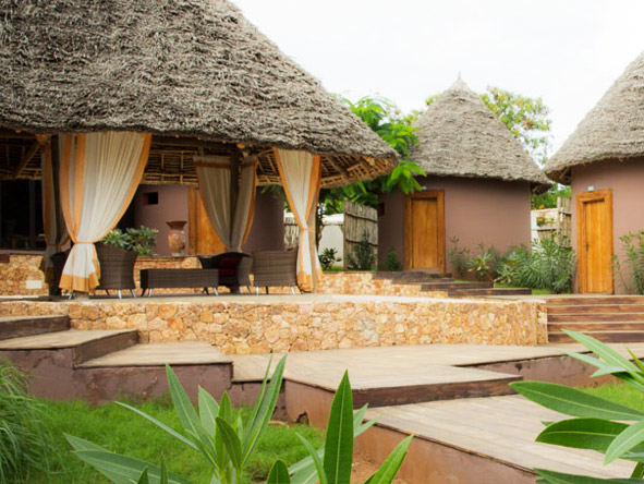 Gold Zanzibar Beach House and Spa - Peaceful spa village