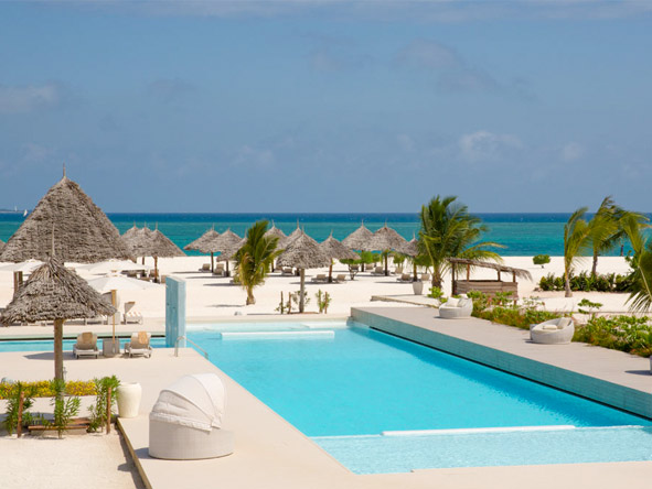 Gold Zanzibar Beach House and Spa - Swimming pool