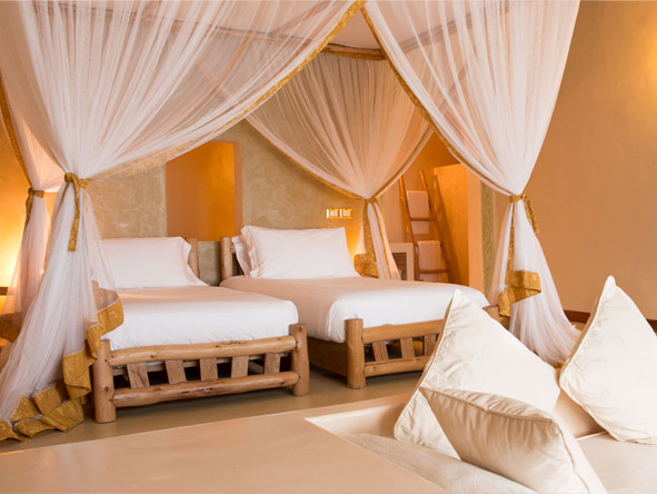Gold Zanzibar Beach House and Spa - Family-friendly resort