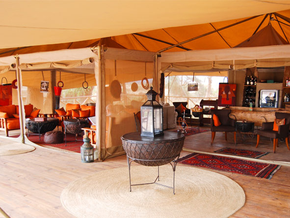 Discover Kenya Private 4x4 Safari - Spacious lounge area
