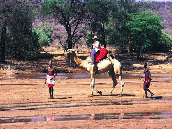 Affordable Kenya Flying Safari - Camel-back safaris