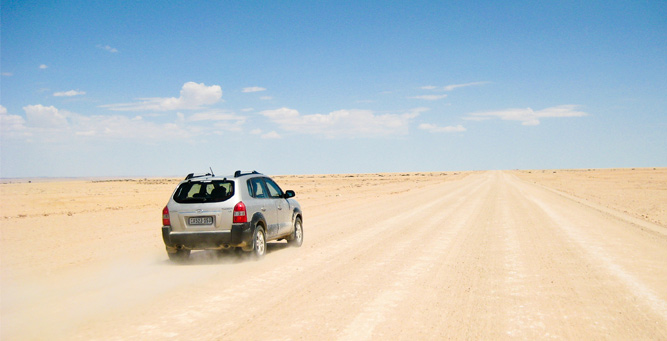 How to Travel Safely in Africa - self driving in Namibia