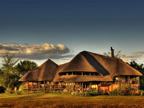 Emphasising the water-based experience, Chobe Savanna Lodge offers the Namibian perspective to the Chobe River.