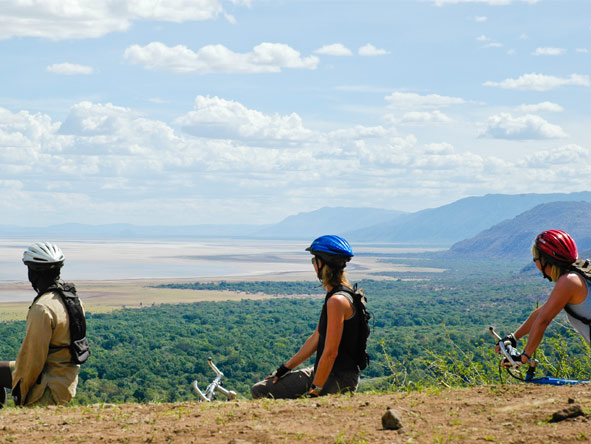 Lake Manyara & Crater Meander - Mountain biking safari
