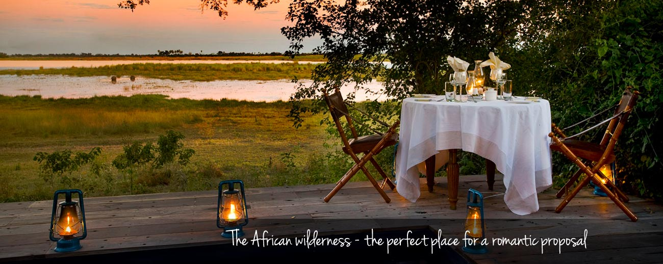 Top 5 Places to Pop the Question in Africa