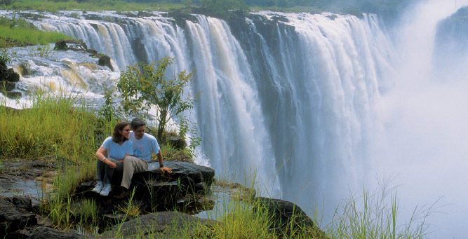 Top 5 Places to Pop the Question - Overlooking Victoria Falls