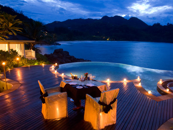 Extravagant Safari & Seychelles Escape - Romantic private dining