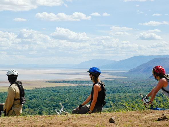 Scenic Serengeti, Selous & Spice Experience - Mountain biking