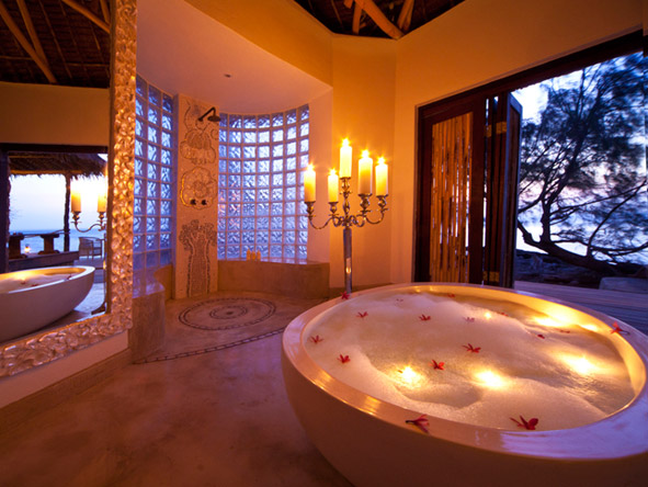 Luxury Safari & Island Honeymoon - Romantic amenities