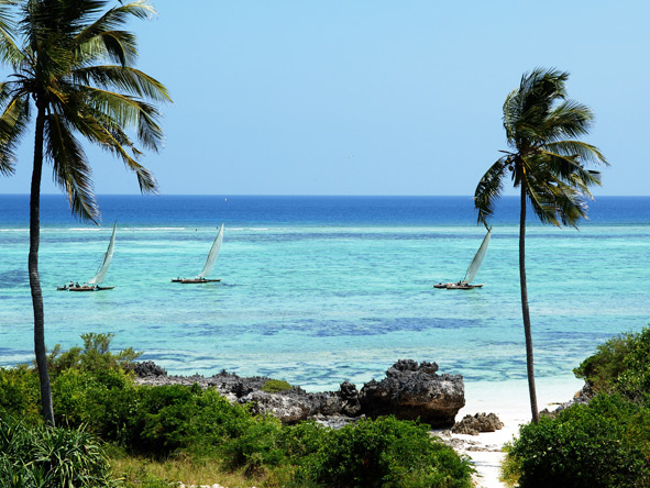 Zanzibar's glorious Matemwe Beach is the setting for Asilia's family villas & barefoot retreats.