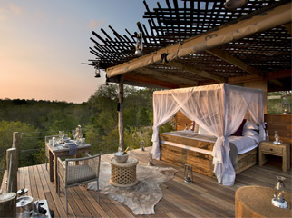 Most Romantic Beds with a View - Treehouse at Lion Sands