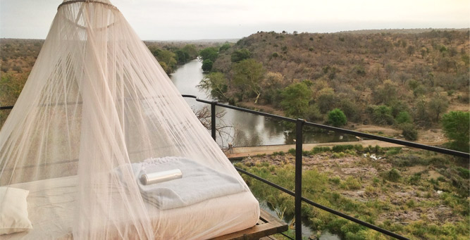 Most Romantic Beds with a View - Singita Lebombo