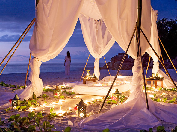 Honeymooners will love the unbridled romance of a Constance hotel.