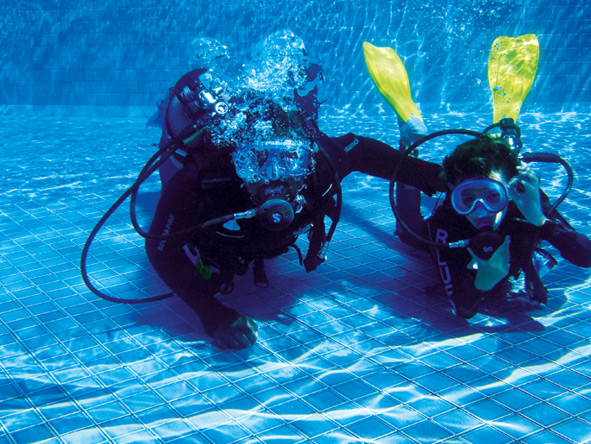 Learn to dive in perfect conditions at a Constance resort; if you're already qualified, prepare for an adventure!