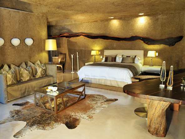 Unique & sensual, Sabi Sabi Earth Lodge is one of our favourite honeymoon accommodations.