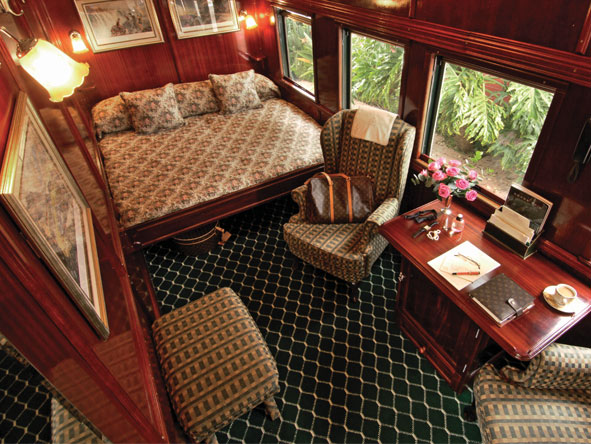 Rovos Rail Epic Africa Train Journey - Spacious rooms