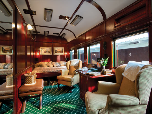 Rovos Rail Epic Africa Train Journey - Luxury train accommodations