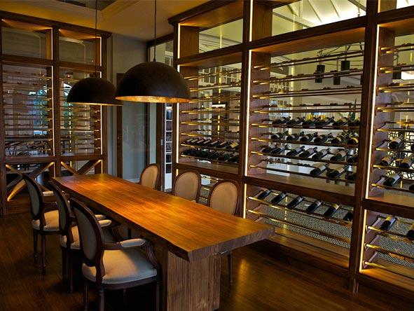 Hemingways Nairobi - Well-stocked wine cellar
