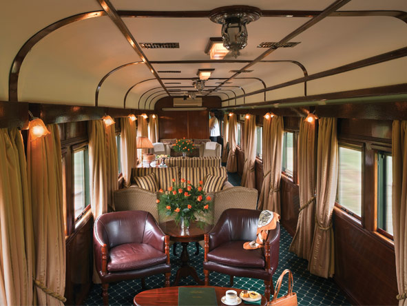 Pretoria to Cape Town Journey - Comfortable lounge car