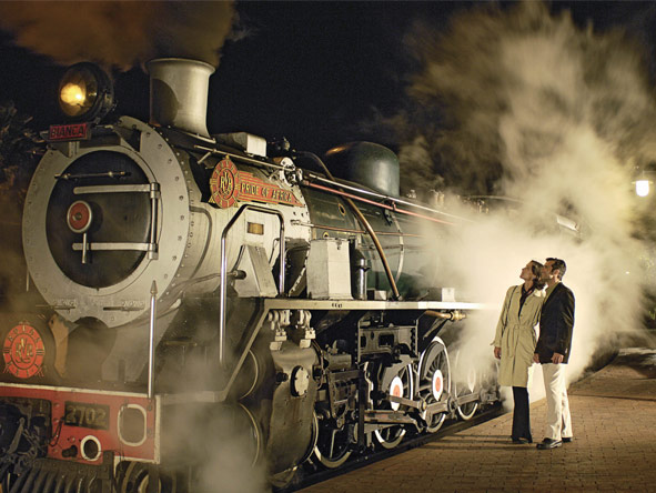 Pretoria to Cape Town Journey - Hissing steam trains