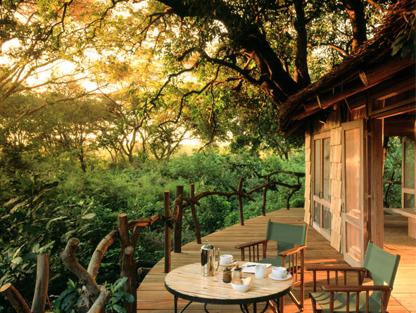 Treasures of Tanzania - Alfresco dining